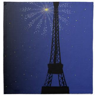 Paris-Nacht Stoffserviette