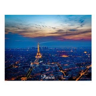 Paris Postkarte