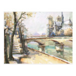 Paris vintage, Notre Dame, La la Seine Cartes Postales
