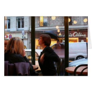 Pariser Atmosphäre Caline Rue Rambuteau Karte