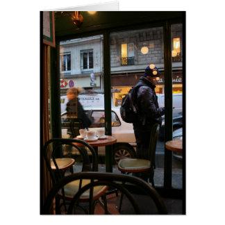 Pariser Atmosphären-Rue Rambuteau Beaubourg Karte