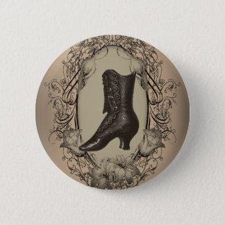 Pariser Vintages viktorianisches Schuh steampunk Runder Button 5,1 Cm