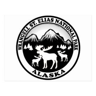 Park-Alaska-Elche Wrangell St. Elias kreisen Postkarte