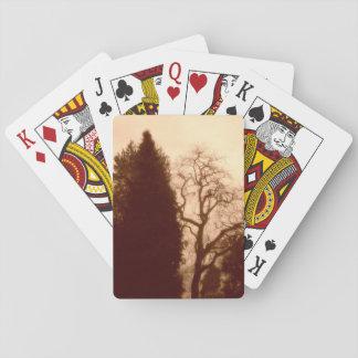 Park-Baum-Standard-Karten Spielkarten