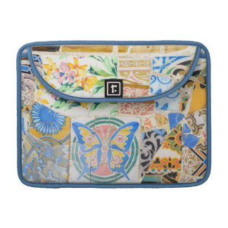 Park Guell Mosaiken Sleeve Für MacBooks