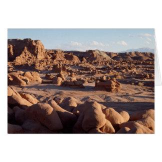 Park Utahs, Kobold-Tal-Staat, Sandstein Karte