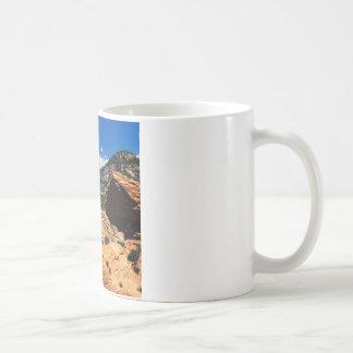 Park-wirbelnde Sandstein-Bildungen Zion Utah Kaffeetasse