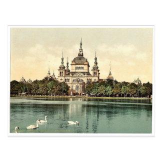 Parken Sie das Haus des Wächters in Bergers Park, Postkarte