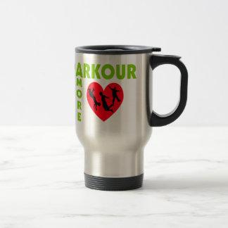 Parkour Amore mit Herzen Reisebecher