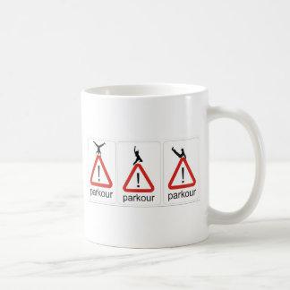 parkour awesomenesss kaffeetasse