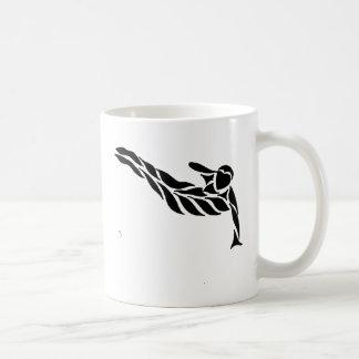 Parkour Gruß Kaffeetasse