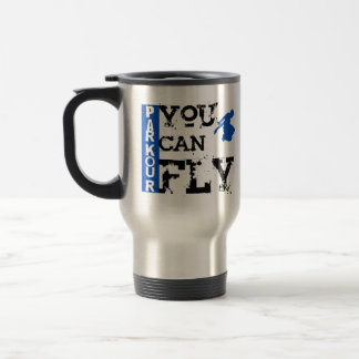 Parkour - Sie können fliegen Reisebecher