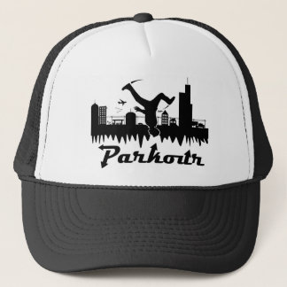 Parkour Stadt Truckerkappe