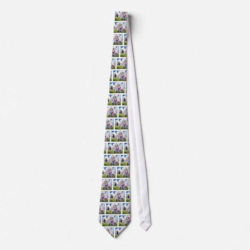 Parler à l'oie de mère cravate personnalisée