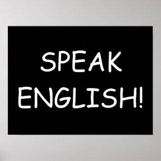 Parlez anglais ! posters