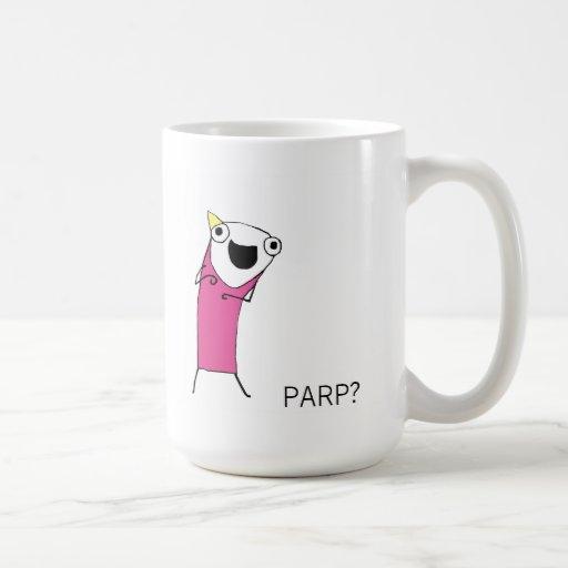 PARP ? MUG BLANC