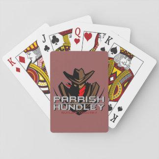 Parrish-Hundley Band-Karten Pokerkarten