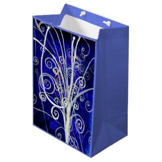 Partikel-Blumenstrauß-Geschenk-Tasche Mittlere Geschenktüte