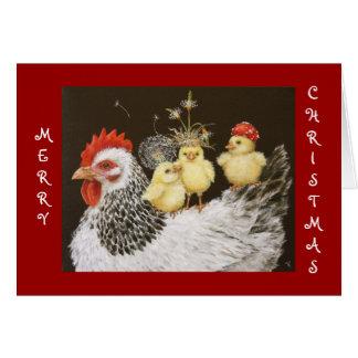 Party-Bus mit Blick-Weihnachtskarte Karten