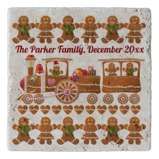 Party der Lebkuchen-Plätzchen Weihnachts Töpfeuntersetzer
