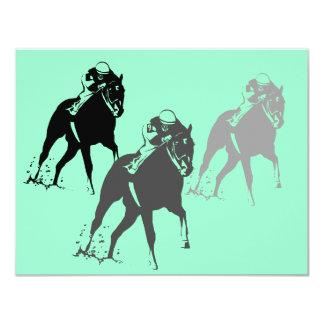 Party Einladung laufende Pferderennen Kentuckys