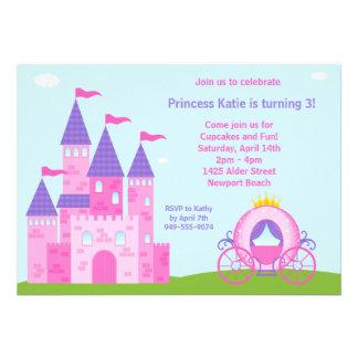 Party Einladung Prinzessin-Birthday