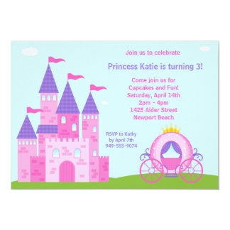 Party Einladung Prinzessin-Birthday