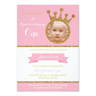 Party Einladung Prinzessin-Party Girls Birthday