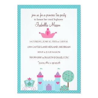 Party Einladungen Prinzessin-Tea