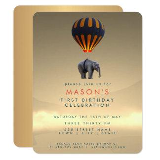 Party Einladungs-Karte des Elefant-u. Karte