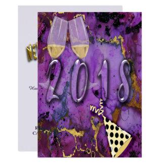 Party Einladungskarte Feier neuer Jahre