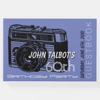 Party-Gast-Buch 2 Geburtstag der alten Kamera 60. Gäste Buch