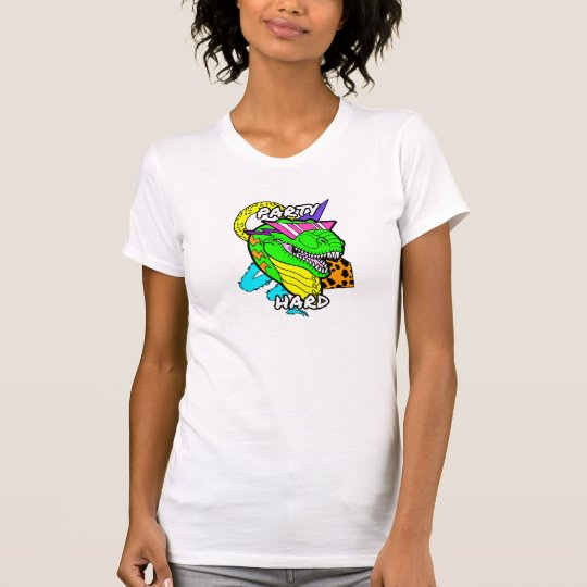 Party-harter Dinosaurier T-Rex T-Shirt