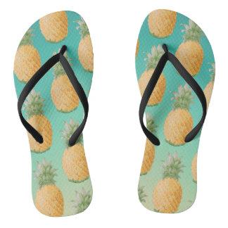 Party mögen eine Ananas Flip Flops