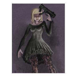 Party-Mörder Postkarte