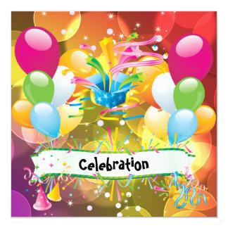 Party-Spaß steigt Ausläufer-Feier im Ballon auf Karte