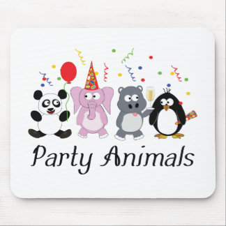 Party-Tiere Mousepad