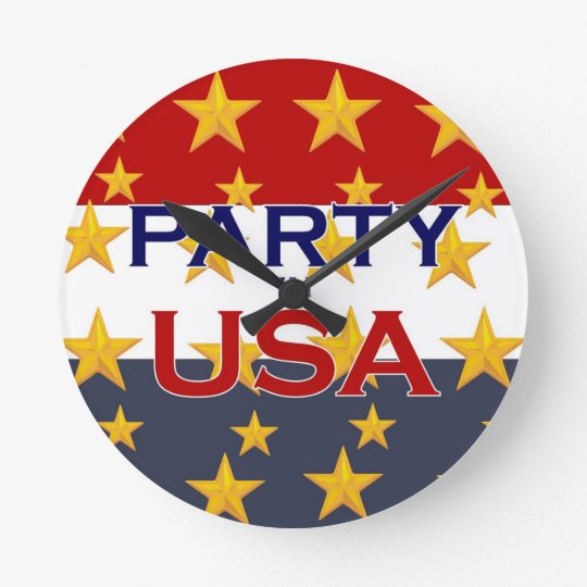 PARTY USA RUNDE WANDUHR