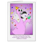 Party-Vogel: Homosexueller Geburtstag Karte