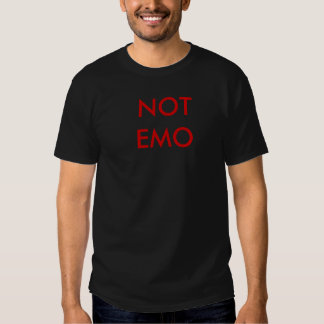 PAS EMO TEE SHIRT