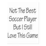 Pas le meilleur footballeur mais moi aiment toujou cartes postales