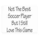 Pas le meilleur footballeur mais moi aiment toujou carte postale