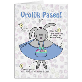 Pasen wenskaart DIY Grußkarte
