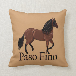 "Paso Fino Bucht ""Paso Fino "" Zierkissen"