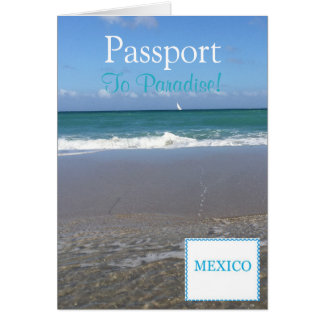 "Pass-Einladung Card|5.6"" x 4 Karte"