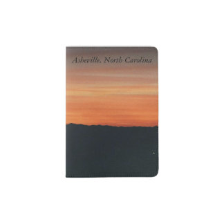 Pass-Halter mit Sonnenuntergang-Entwurf Passhülle