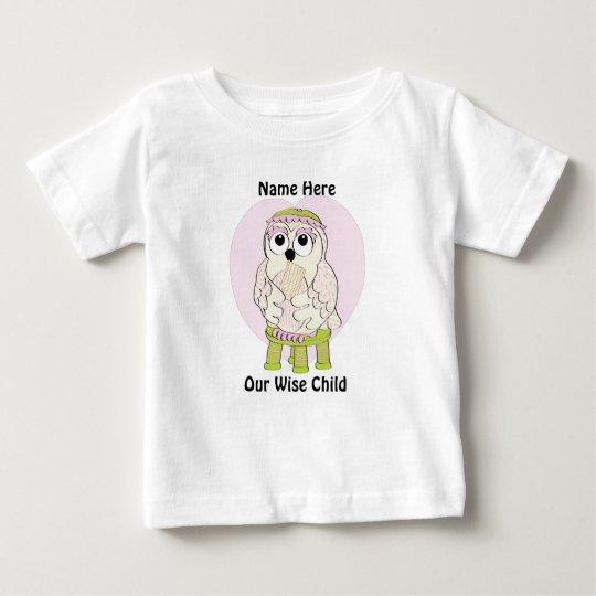"""Passahfest-Baby-T - Shirt fertigen """"unser kluges"""