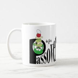 "Passahfest ""P ist für Passahfest"" 11 Kaffeetasse"