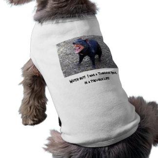 Passen Sie heraus auf!  Ich war ein tasmanischer T-Shirt