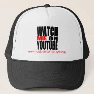 Passen Sie mich auf YouTube auf (modern) Truckerkappe